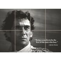 Ayrton Senna Racing Driver Legend New Giant Wall Art Print Picture Poster