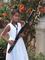 petit Basson fagot fagottino black panther pour bassonistes enfants débutants