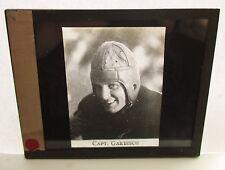 c1919 Glass Lantern 3x4 Slide Ed Garbisch Washington & Jefferson University HOF