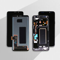 For Samsung Galaxy S9 SM-G960 S9+ PLUS G965 LCD Touch Screen Digitizer ± Frame