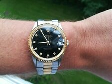 Vintage 80s 90s Slava 2427 Automatic Mens Homage Day Date Watch