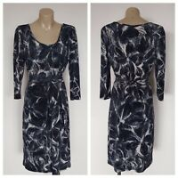 BASQUE Ladies Patterned Long Sleeve Dress Size 10