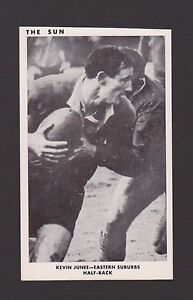 1967  THE SUN  KEVIN JUNEE   EASTS   PHOTO CARD
