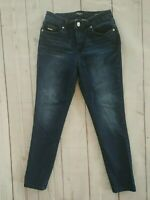 Nine West Womens Jeans Gramercy Skinny Ankle Denim Sz 6 Medium Wash Stretch Slim