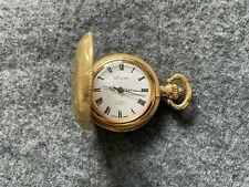 Mechanical Vintage Wind Up Pocket Watch Swiss Made Arnex 17 Jewels Incabloc