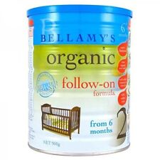 DJP Bellamy's Step 2 Organic Follow on Formula 900g