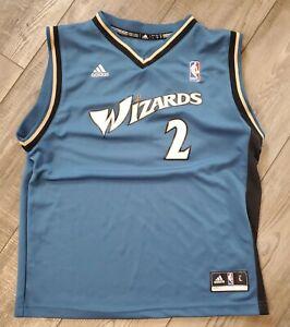 Washington Wizards John Wall Adidas NBA Basketball Jersey Youth L Boys 14-16