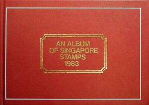 AN ALBUM OF SINGAPORE STAMPS 1983 Philatelic Edition