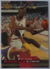 1993-94 Michael Jordan Chicago Bulls NBA Upper Deck Mr June Insert Card #MJ2