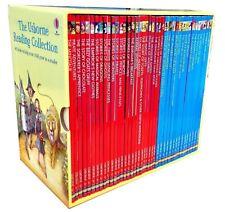 The Usborne Reading Collection 40 Children Books BOXSET Learn to Read