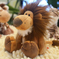 Lion King Plush Soft Doll Stuffed Animals Brown Hair Toy Kids Christmas Gift