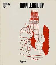 IVAN LEONIDOV ARCHITECTURE BOOK 1981 1ST ED.RUSSIAN CONSTRUCTIVIST