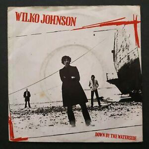 "Wilko Johnson: Down By The Waterside - 1980 Rockburgh Records 7"" Vinyl Single"