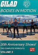 GILAD BODIES IN MOTION: 30TH ANNIVERSARY SHOWS 2 - DVD - Region Free