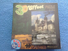 PELES CASTLE Romania 3D Effect Puzzle 500 Pieces D-Toys 2009 NEW Sealed