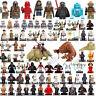 star wars minifigures Yoda Darth Vader Kylo Ren Rey R2-D2 C-3PO Mandalorian Toys
