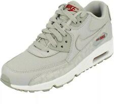 Nike Air Max 90 LTR BG Uk 4 Wolf Grey Boys Girls Bnib BQ6574 002 Ladies