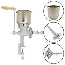 Home Cast Iron Corn Mill Grinder Manual Hand Crank Grains Oats Wheat Coffee