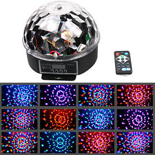 18W RGB Magic Rotating Ball Effect LED Stage Lights KTV Party Club Bar Disco DJ