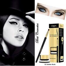 L'Oreal Super Liner Gel Intenza Eyeliner 02 Golden Black  2.8g  NEW IN BOX