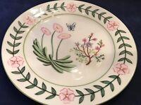 """I. Godinger & Co. 10 1/2"""" Butterfly Dragonfly Dinner Plate EUC"""
