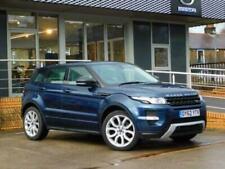 Range Rover Evoque Blue Land Rover & Range Rover Cars