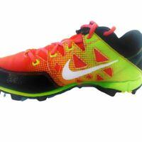 Womens Nike Athletic Shoes Size 5 Orange Green