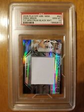 Drew Brees Jersey Swatch Card 2008 Playoff PSA10 Factory # 5/5