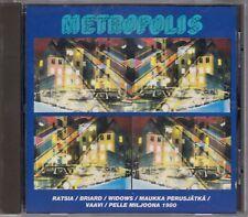 Metropolis Cd Finland Punk Rock Ratsia Briard Vaavi Widows Pelle Miljoona 1980