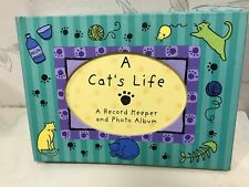 New Spiral Bound A Cat'S Life Book * Record Keeper, Journal & Photo Album * Book