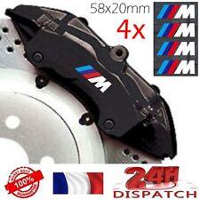 4x Aufkleber BMW M Leistung 58x20mm weiß - adhesiv 4x