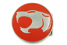 ThunderCats Red/Silver Logo Metal Belt Buckle