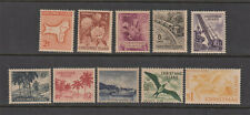 Christmas Island Stamps 1963 Map of the Island & Local Scenery, Complete set, Mi