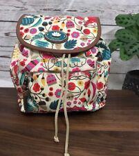 Lily Bloom Love Cats Mini Backpack Purse KARMA Fabric NWT! Original MFSRP $69