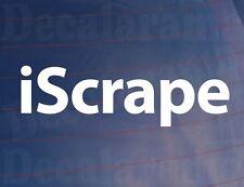 iSCRAPE Funny Slammed Lowered Modified Cruise Car,Van,Bumper,Window Sticker