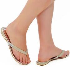 Unbranded Block Heel Flip Flops for Women