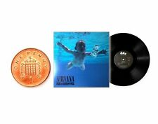 MINIATURE 1/12 RECORD ALBUM  LP - NIRVANA - NEVERMIND - NON PLAYABLE