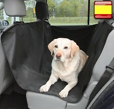 Funda cubre asiento de coche perros gatos Cobertor Mascotas abertura cinturon