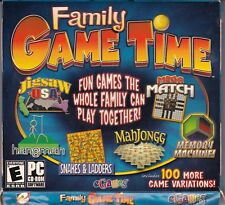 Family Game Time--PC--FREE SHIPPING