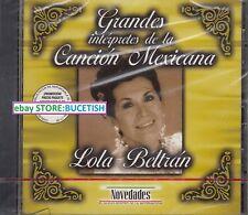 Lola Beltran Grandes Interpretes de la Cancion Mexicana CD New sealed