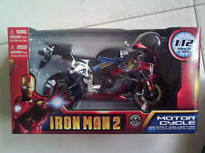 IRON MAN 2 1:12 Die-Cast Motorcycle, detailed features. Avengers