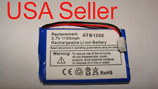 Battery for ATB-1200 RTI T1 T2+ T2B T3 T2C T2Cs Remote