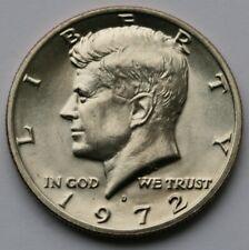 1972 D Kennedy Half Dollar Gem BU Condition US Coin