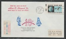 1971 US space cover - Doc's Local Post - ALAN SHEPARD 10th anniversary