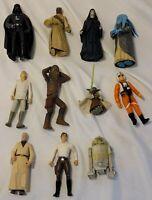 Star Wars Figures Mixed Lot of 11 Hasbro / Kenner figures