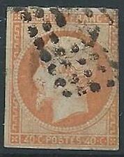 1853-60 FRANCIA USATO NAPOLEONE III 40 CENT - EDF164