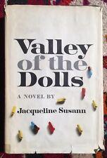 Valley Of The Dolls by Jacqueline Susann - 1966 1st Ed. Bce Hc/Dj