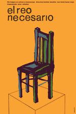Movie Poster for bulgaria film EL REO necesario.Room house home art decor design