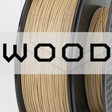 Wood 3D Printer Filament PLA Composite (1.75mm)