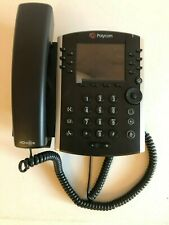 Polycom VVX 411 HD Business Office VOIP IP SIP Skype SfB Teams Desk PoE Phone
